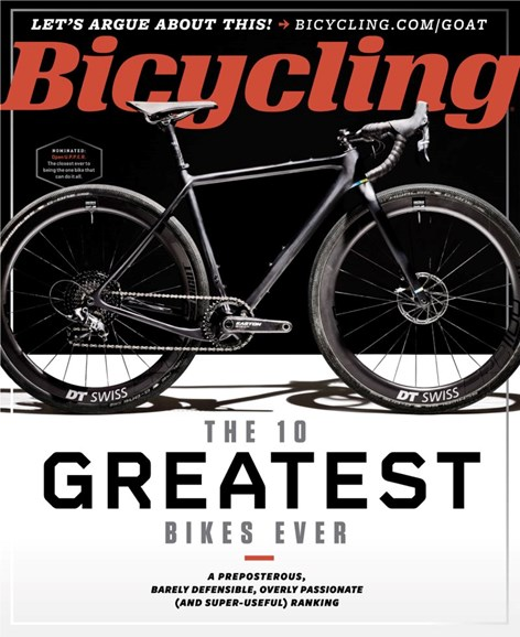 Bicycling Cover - 7/1/2019