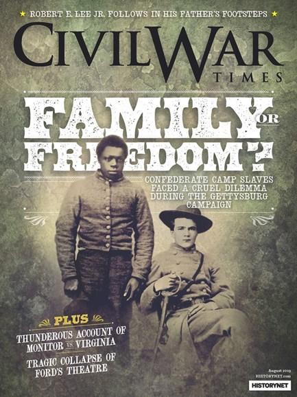 Civil War Times Cover - 8/1/2019