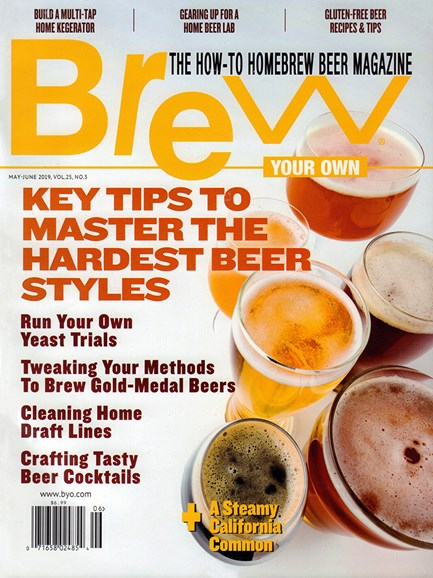 Brew Your Own Cover - 5/1/2019