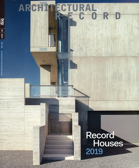 Architectural Record Cover - 4/1/2019