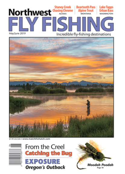 Northwest Fly Fishing Cover - 5/1/2019