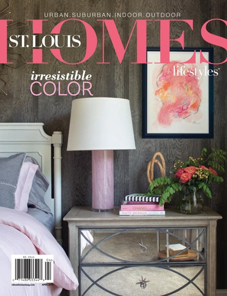St. Louis Homes & Lifestyles Cover - 4/1/2019