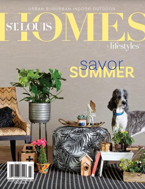 St Louis Homes and Lifestyles Magazine | 6/2019 Cover