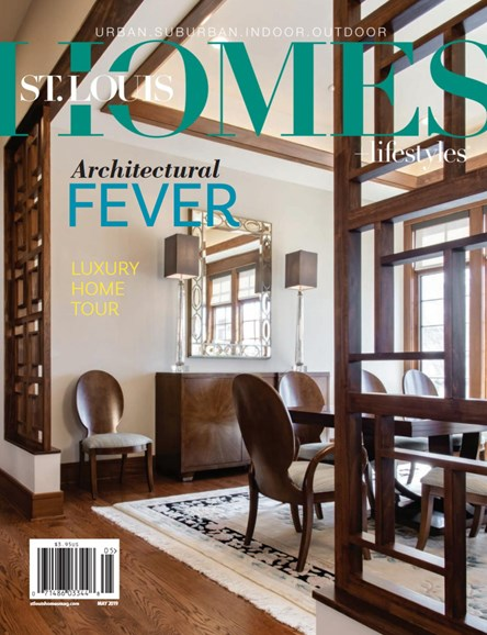 St. Louis Homes & Lifestyles Cover - 5/1/2019