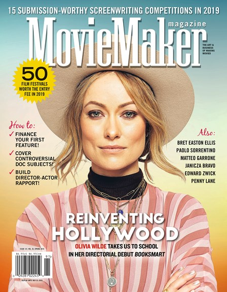 Moviemaker Magazine Cover - 4/1/2019