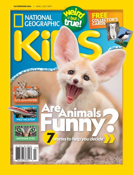 National Geographic Kids Cover - 6/1/2019