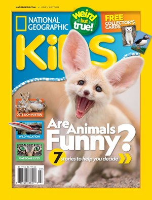 National Geographic Kids Magazine | 6/2019 Cover