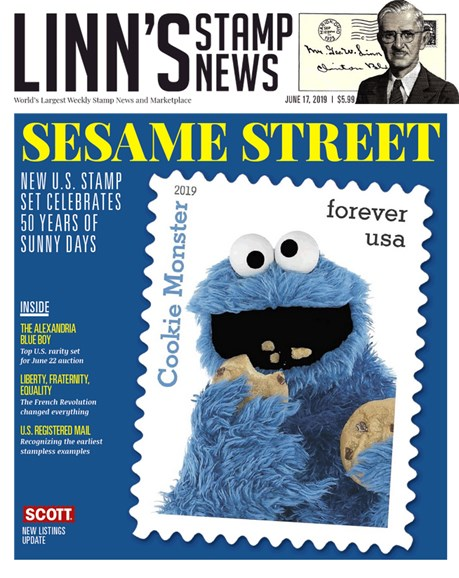 Linn's Stamp News Monthly Cover - 6/17/2019