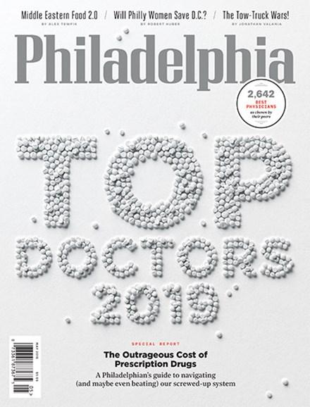 Philadelphia Magazine Cover - 5/1/2019