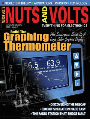 Nuts & Volts Magazine | 3/2019 Cover