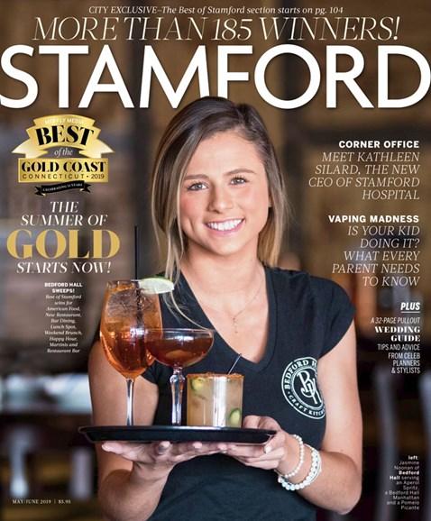 Stamford Magazine Cover - 5/1/2019