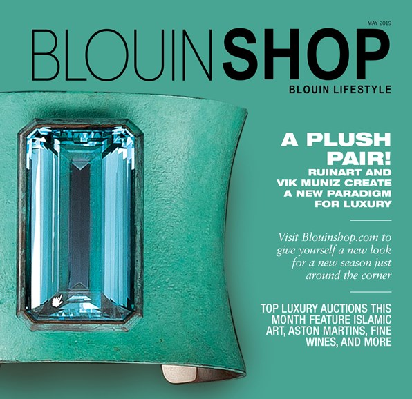 Blouin Lifestyle Cover - 5/1/2019