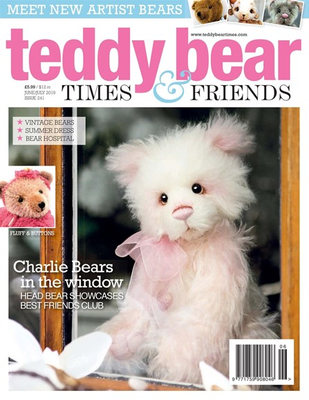 Teddy Bear Times & Friends Cover - 6/1/2019