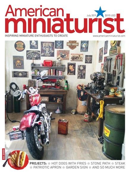 American Miniaturist Cover - 7/1/2019
