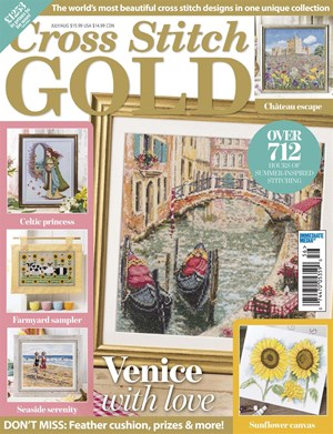 Cross Stitch Gold Magazine | 6/2019 Cover