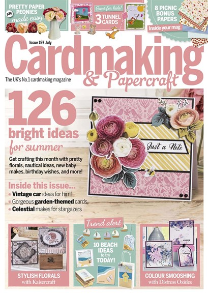 CardMaking & PaperCrafts Cover - 7/1/2019