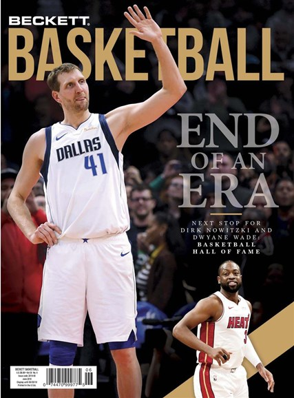 Beckett Basketball Cover - 6/1/2019