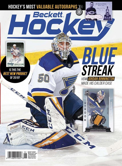 Beckett Hockey Cover - 6/1/2019