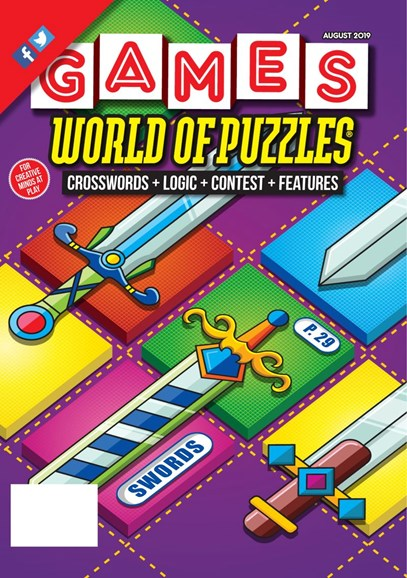 Games World of Puzzles Cover - 8/1/2019