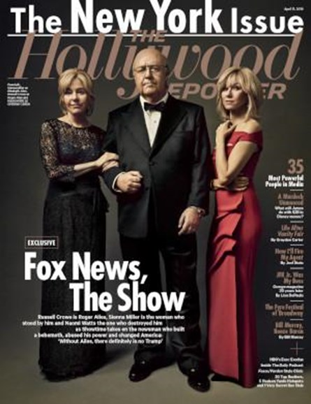 The Hollywood Reporter Cover - 4/11/2019