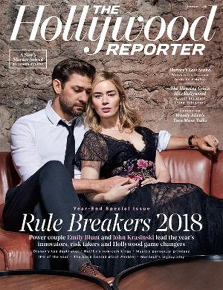 The Hollywood Reporter Cover - 12/17/2018