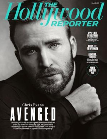 The Hollywood Reporter Cover - 3/27/2019