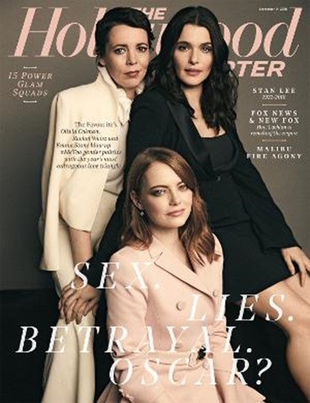 The Hollywood Reporter Cover - 11/14/2018