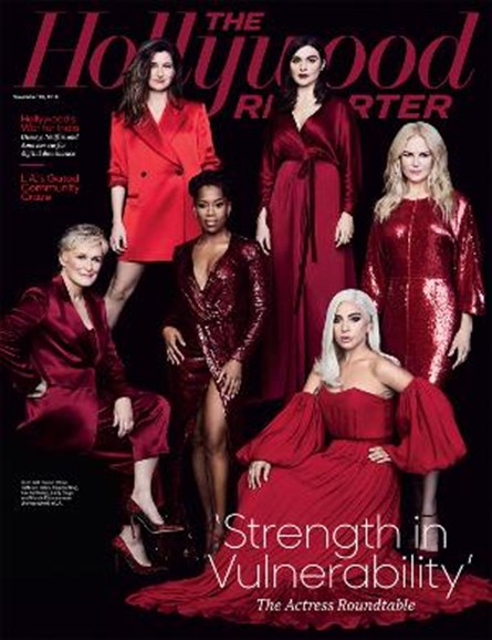 The Hollywood Reporter Cover - 11/28/2018