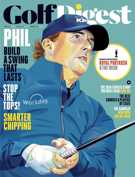 Golf Digest Cover - 7/1/2019