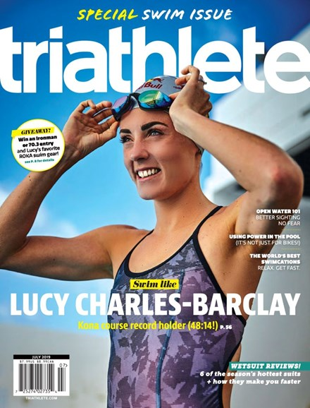 Triathlete Cover - 7/1/2019