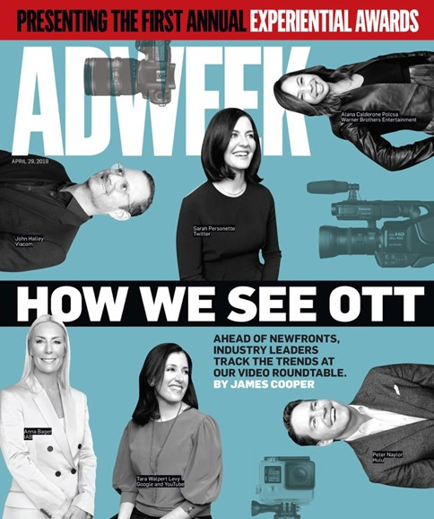 Adweek Cover - 4/29/2019