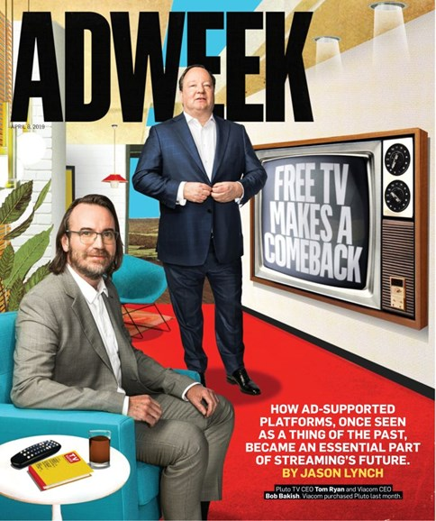 Adweek Cover - 4/8/2019