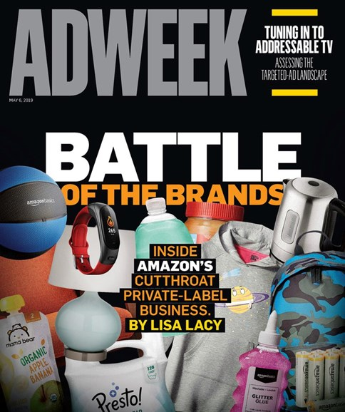 Adweek Cover - 5/6/2019