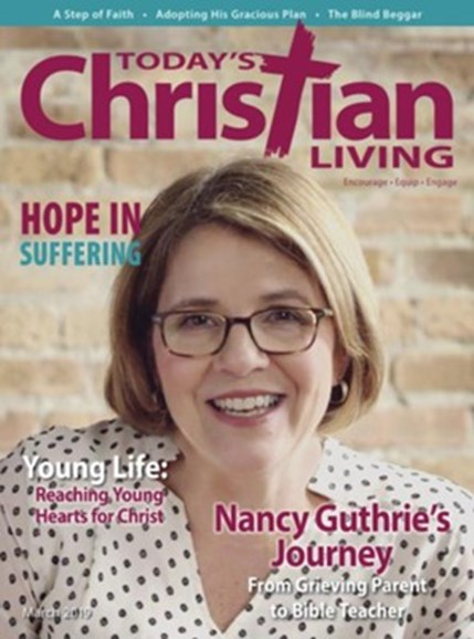 Today's Christian Living Cover - 3/1/2019