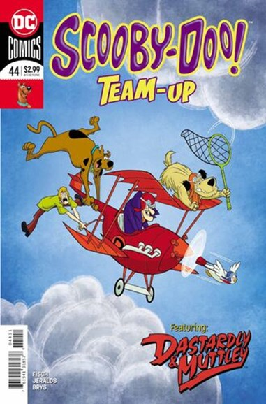 Scooby- Doo Team Up Cover - 1/1/2019