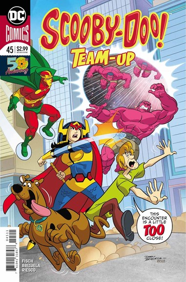 Scooby- Doo Team Up Cover - 3/1/2019