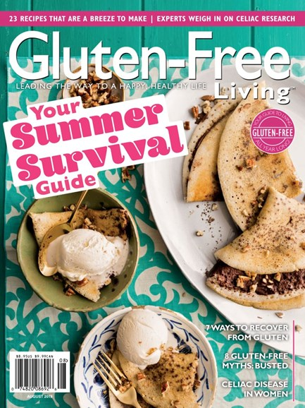 Gluten-Free Living Cover - 7/1/2019