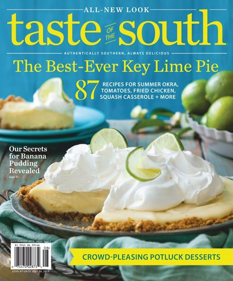 Taste of the South Cover - 7/1/2019