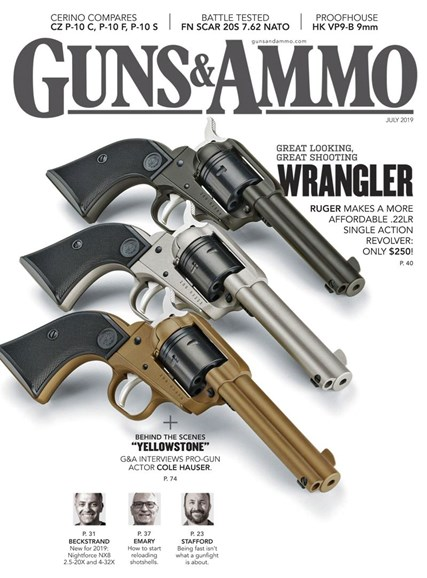 Guns & Ammo Cover - 7/1/2019