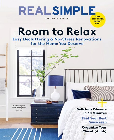 Real Simple Cover - 6/1/2019