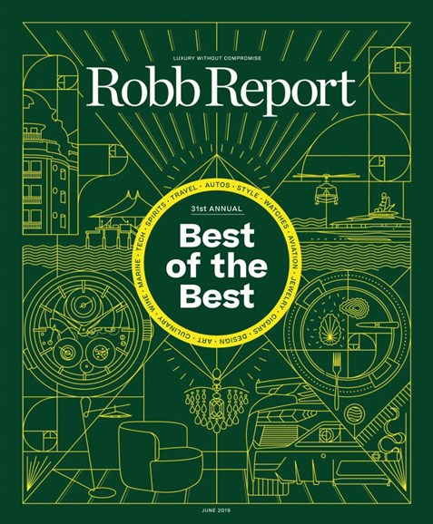 Robb Report Cover - 6/1/2019