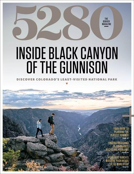 5280 Magazine Cover - 6/1/2019