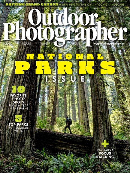 Outdoor Photographer Cover - 7/1/2019