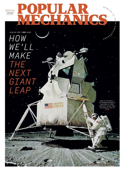 Popular Mechanics Cover - 7/1/2019