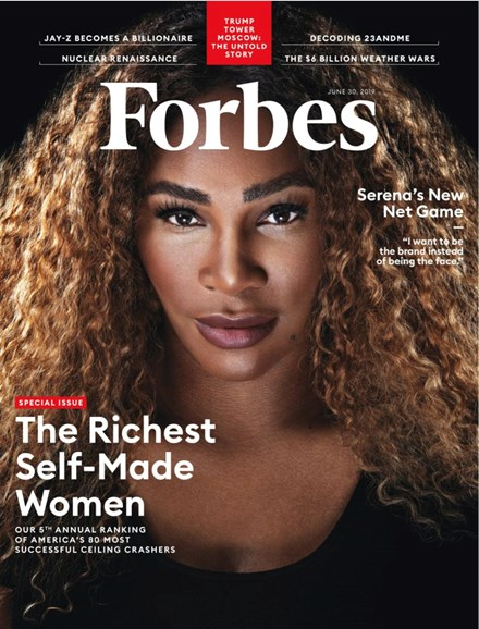 Forbes Cover - 6/30/2019