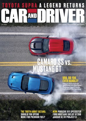 Car And Driver Magazine | 7/2019 Cover