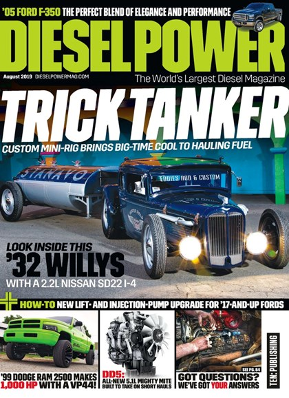 Diesel Power Cover - 8/1/2019