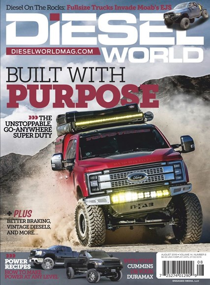 Diesel World Cover - 8/1/2019