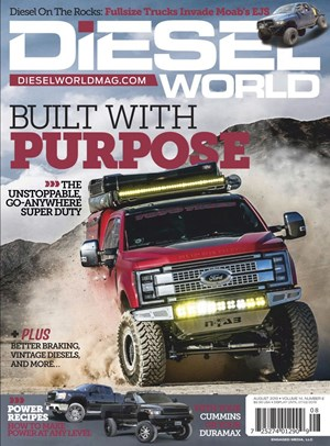 Diesel World Magazine | 8/2019 Cover
