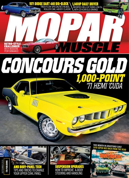 Mopar Muscle Cover - 9/1/2019